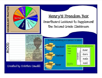 Henry's Freedom Box  ~ Smartboard Lessons to Supplement the 2nd Grade Classroom