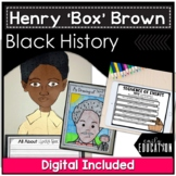 "Henry's Freedom Box a Book Study and Mini Unit about Henry ""Box"" Brown"