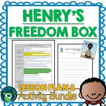 Henry's Freedom Box by Ellen Levine Lesson Plan and Activities