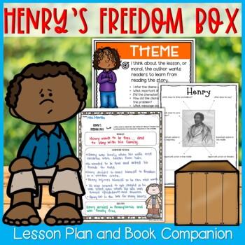 Henry's Freedom Box by Ellen Levine Theme Read Aloud Lesson