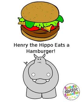 Henry the Hippo Eats a Hamburger!