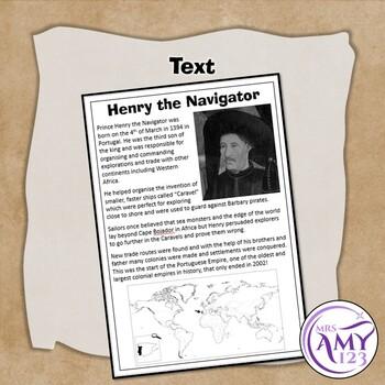 Henry the Navigator Comprehension