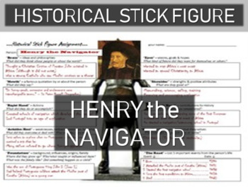 Henry the Navigator Historical Stick Figure (Mini-biography)