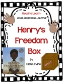 Henry's Freedom Box by Ellen Levine - A Complete Book Response Journal