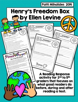 Henry's Freedom Box: A Reading Response/Comprehension Activity