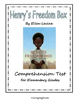 Henry's Freedom Box Comprehension