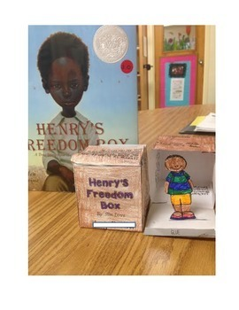 Henry's Freedom Box (Henry Box Brown)Reading Unit and Craft