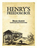 Henry's Freedom Box Read Aloud Language Arts Activities Black History Month