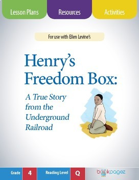 Henry's Freedom Box Lesson Plans & Activities Package,Third Grade (CCSS)