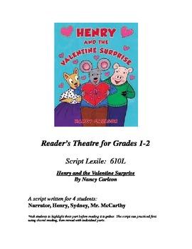 Henry's Valentine Surprise Reader's Theatre