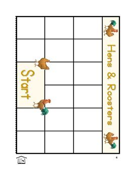 Hens and Roosters phonics game