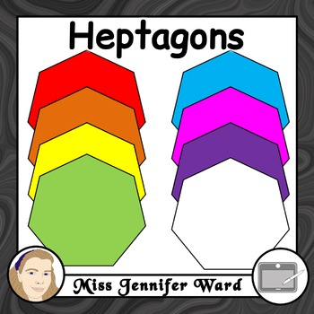 Heptagon Clipart