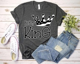Her King Crown USA Flag SVG Royal 4th July Fairy Tale tiara 1264S