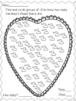 Her! She Kissed Me!! A Math and Literacy Valentine Freebie