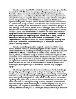 Heraclitus - a Biography
