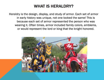 Heraldry (Coat of Arms) Project
