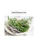 Herbal Botany Unit