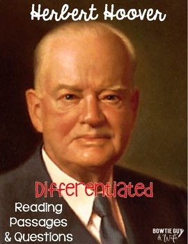 Herbert Hoover Differentiated Reading Passages