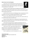 Herbert Hoover & the Great Depression reading and questions