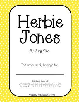 Herbie Jones Novel Study