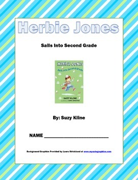 Herbie Jones Sails Into Second Grade Comprehension Packet