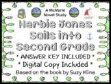 Herbie Jones Sails into Second Grade (Suzy Kline) Novel Study / Comprehension