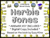 Herbie Jones (Suzy Kline) Novel Study / Comprehension  (29 pages)