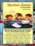 Herbie Jones by Suzy Kline ELA Novel Reading Study Guide Teaching Unit