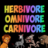 Herbivore, Omnivore, Carnivore Song!