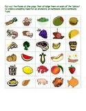 Herbivore, Omnivore, Carnivore Sorting Activity