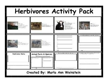 Herbivores Activity Pack