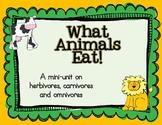 Herbivores,Carnivores, and Omnivores (What Animals Eat!)