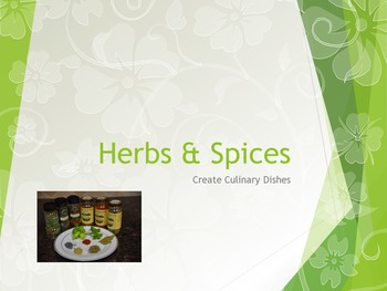 Herbs & Spices Power Point
