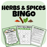 Herbs and Spices BINGO