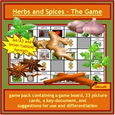 Herbs and Spices game pack