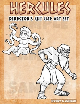 Hercules Part 2- clip art set
