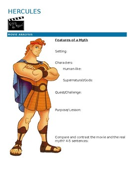 Hercules- Features of a myth
