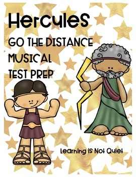 Hercules: Go the Distance (Fun, Musical Test Prep, Smartboard, Comp, Games)