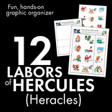 Hercules (Heracles) Myth, 12 Labors, Hands-on Activity/Game, Lots of Busy Fun