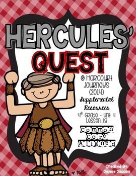 Hercules' Quest (Journeys 4th Gr. - Supplemental Materials)