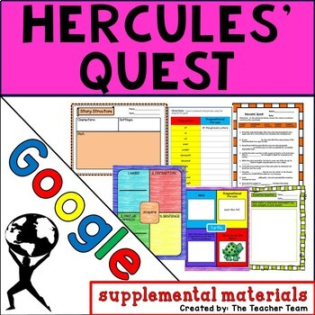 Hercules Quest Journeys 4th Grade Unit 4 Google Drive Resource
