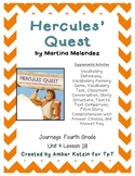 Hercules' Quest Supplemental Activities 4th Grade Journeys Unit 4, Lesson 18