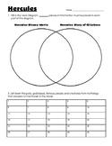 Hercules - Story and Disney Movie Venn Diagram