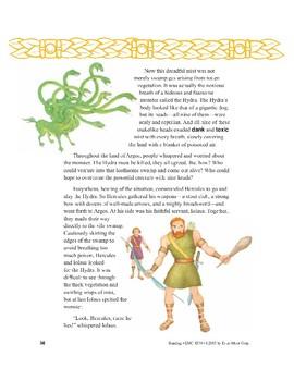 Hercules and the Many-Headed Hydra