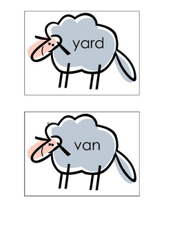 Herd Your Flock of Lambs ABC order
