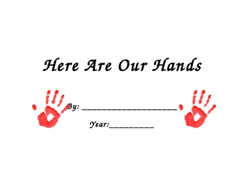Here Are Our Hands Class Book