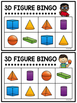 Here Are The 3D Figures That I Know!: A Kindergarten 3D Figure Unit