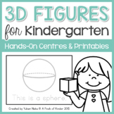 Here Are The 3D Figures That I Know!: A Kindergarten 3D Fi
