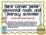 Here Comes Peter Cottontail Math And Literacy Activities