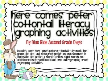 Here Comes Peter Cottontail Poem Graphing Activity